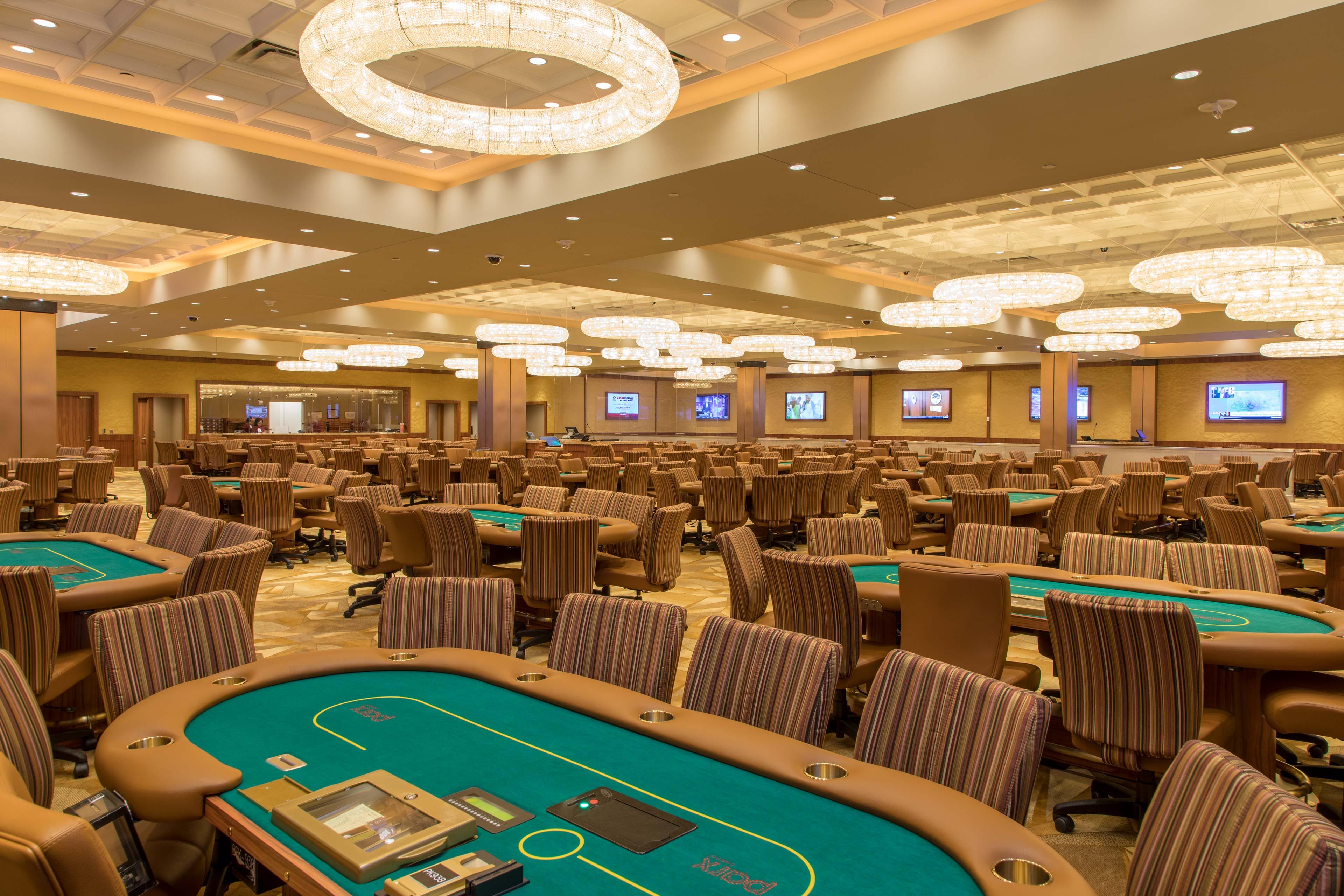 poker room casino niagra
